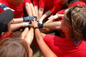 Team Hands Together